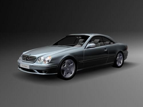 Mercedes CL600 3D Model