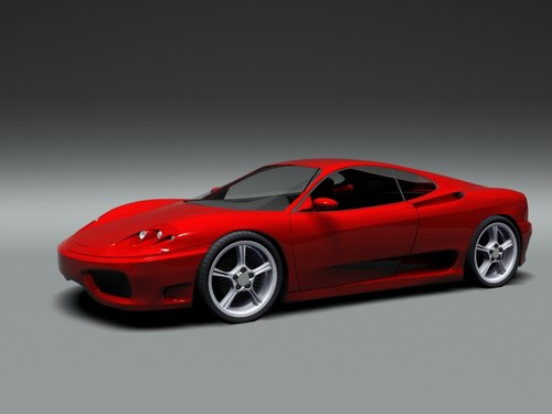 Ferrari 360 modena 3D Model