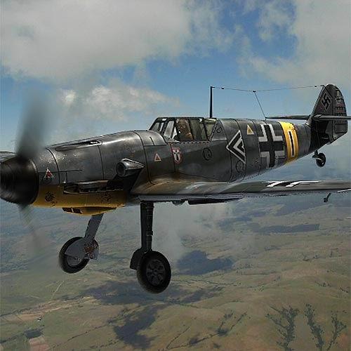 Messerschmitt BF109F2 3D Model