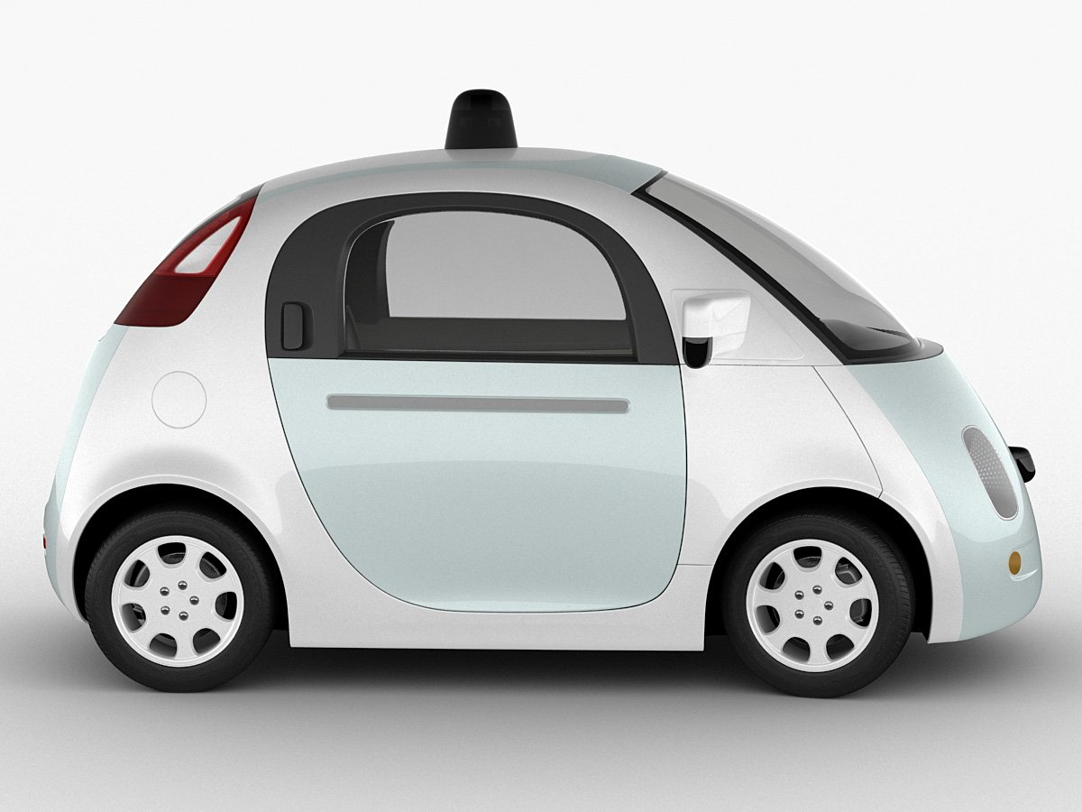 Google Self Driving Car Model
