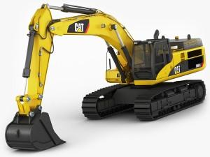 Excavator CAT 345 DL