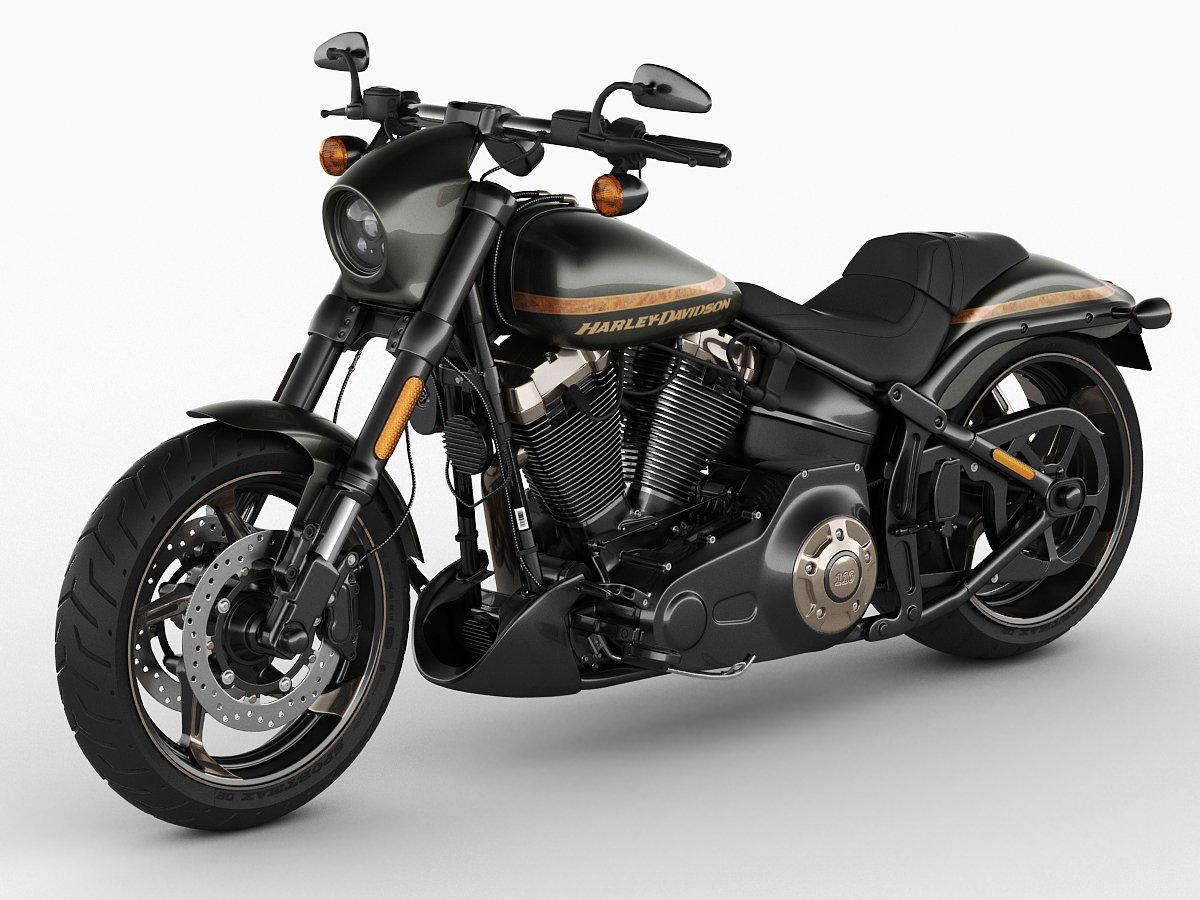 Harley davidson sportster xl in bergantino für