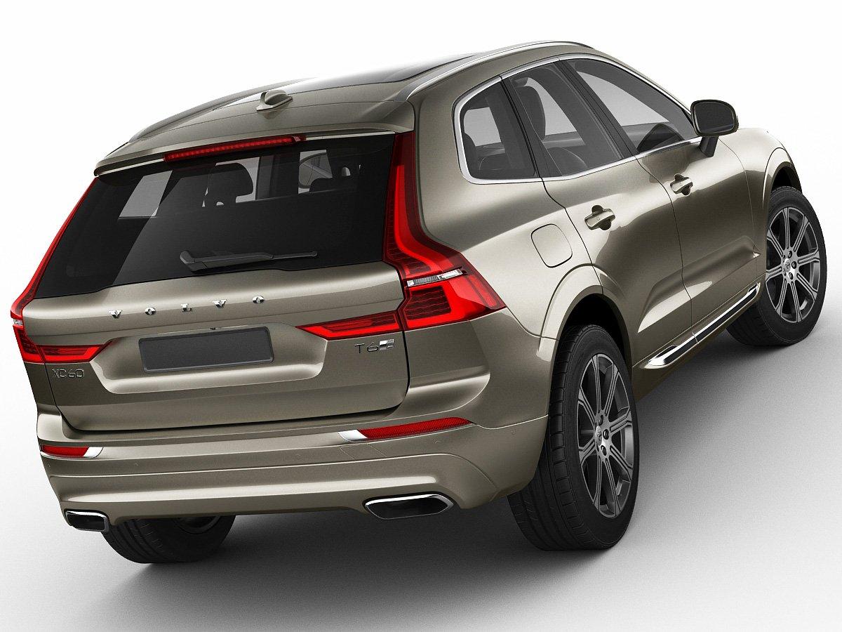 Volvo XC60 2018 3D Model