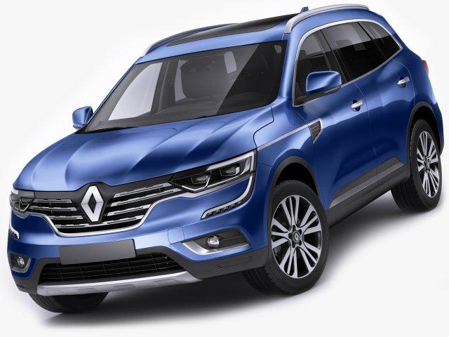 Renault Koleos 2017 3d Model In Suv 3dexport