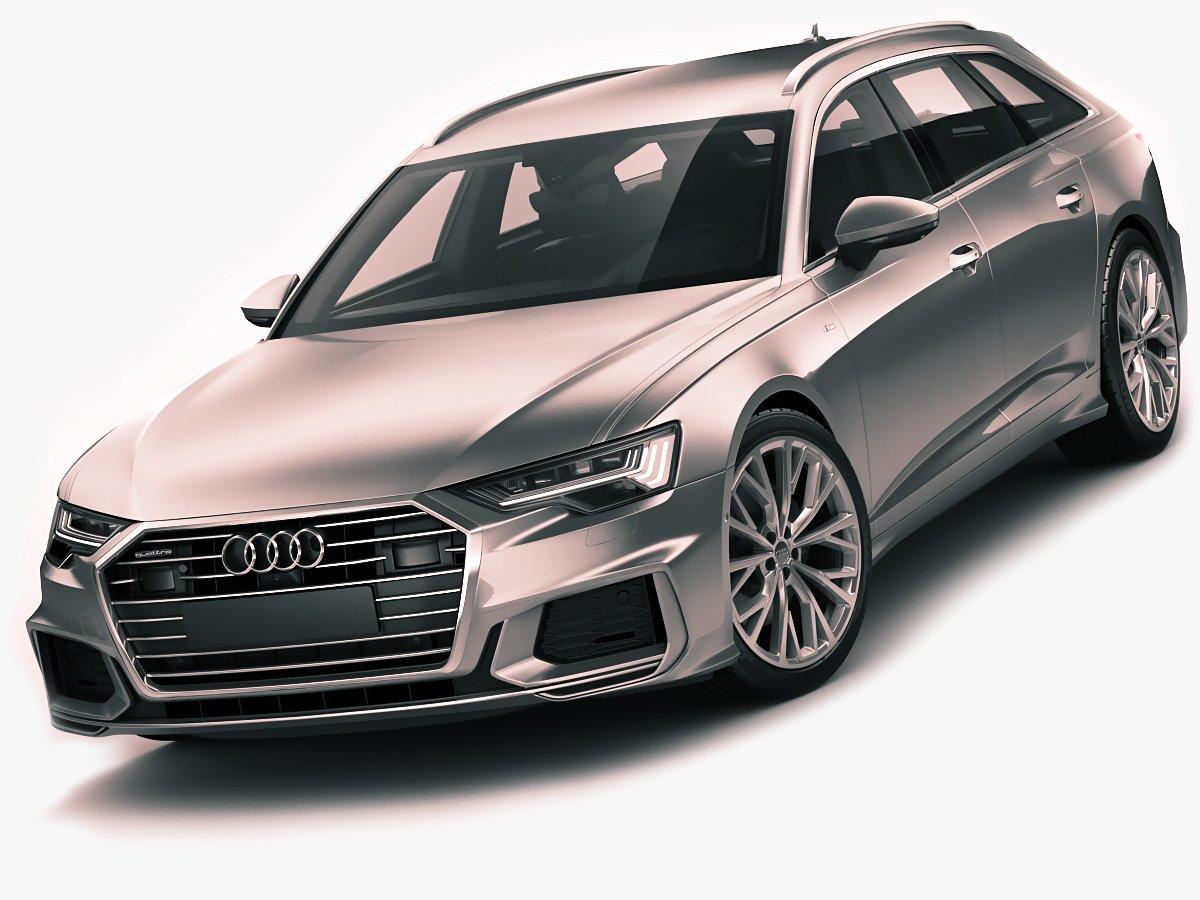 Audi A6 Avant 2019 S Line 3d Modell In Wagen 3dexport