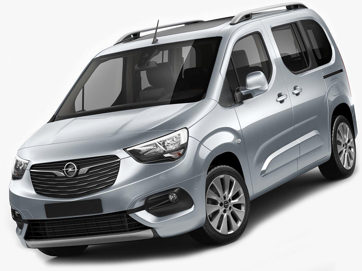 Opel Combo Life 3d Model In Van And Minivan 3dexport