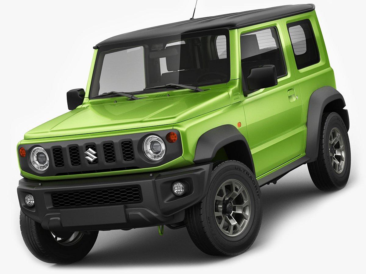 Suzuki Jimny 3 3D Model in Compact Cars 3DExport