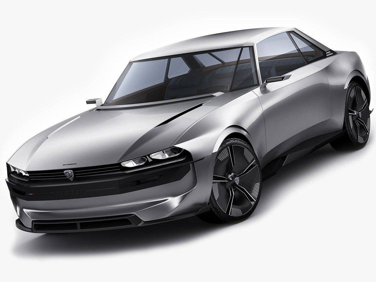 Peugeot E Legend Concept Modelo 3d In Conceptual 3dexport