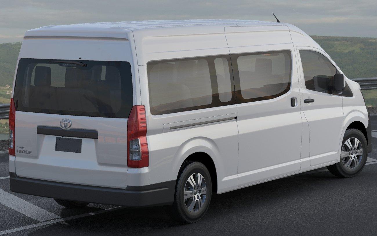 toyota hiace commuter bus slwb 2020 3d model in bus 3dexport