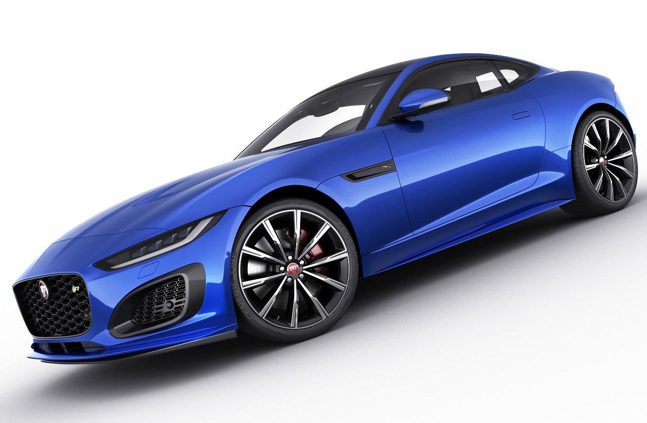 jaguar f-type 2020 3d model in sport cars 3dexport