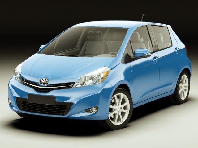 Toyota Yaris Vitz Jewela 2012 3D Model