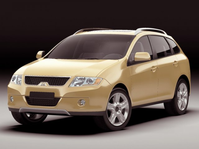 Generic modern SUV 3D Model