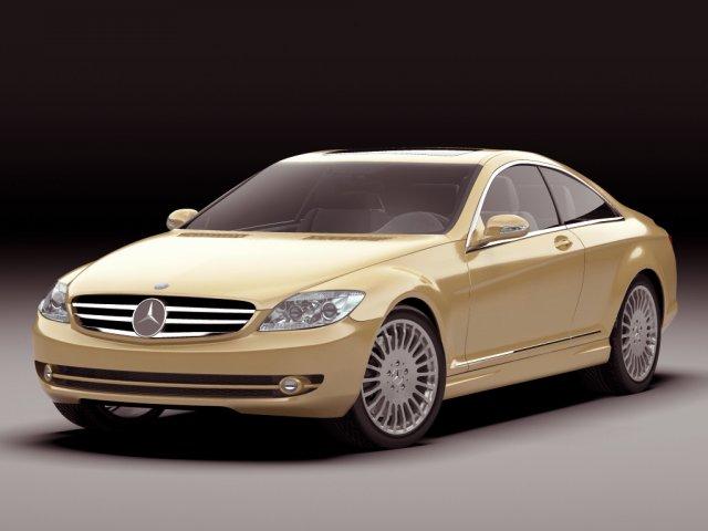 Mercedes CL 2007 3D Model