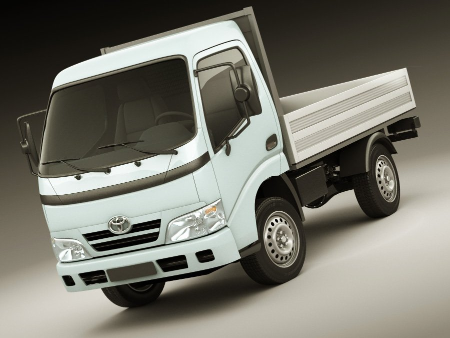 Toyota Dyna 3D Model in Truck 3DExport
