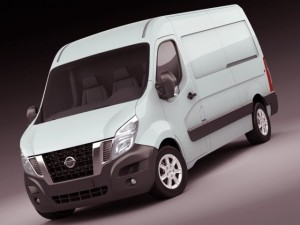Nissan NV400 van 2011
