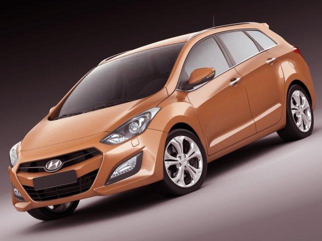 Hyundai i30 Wagon 2013 3D Model