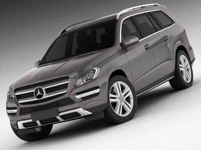 Mercedes GL 2013 3D Model