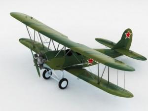 Polikarpov po2 soviet biplane