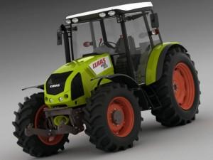 Claas Axos Tractor