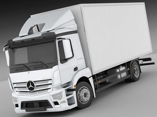 Mercedes Antos rigid truck 3D Model