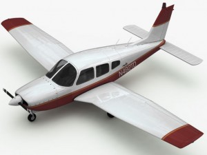 3D Models Piper PA28 Cherokee Arrow