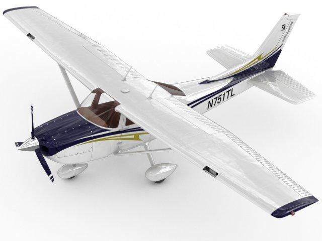 3D Models Cessna 182 Skylane 3D Model