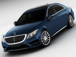 3D Models Mercedes Sclass 2014 AMG package