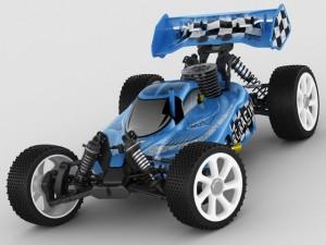 RC buggy model