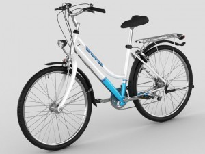 Generic womans bicycle