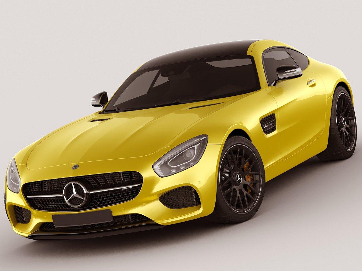 Mercedes Gt Amg 3d Model In Spor Araba 3dexport