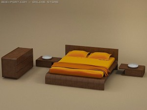 FLO bedroom set