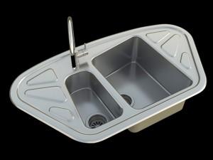 Kitchen Sink Foster Trapezio