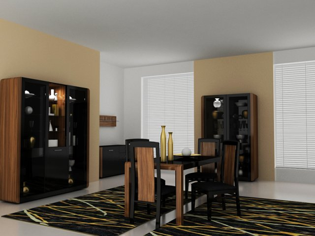 Living room set POLAR 3D Model