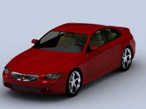 Download free Bmw 6 series0 3D Model