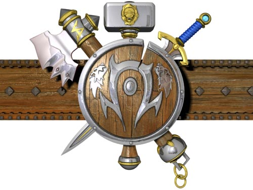 Human-Orc Logo 3D Model