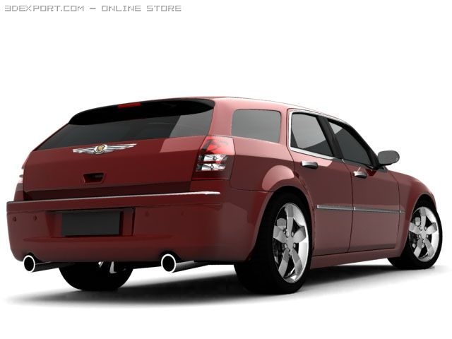 Chrysler 300c touring 3D Model