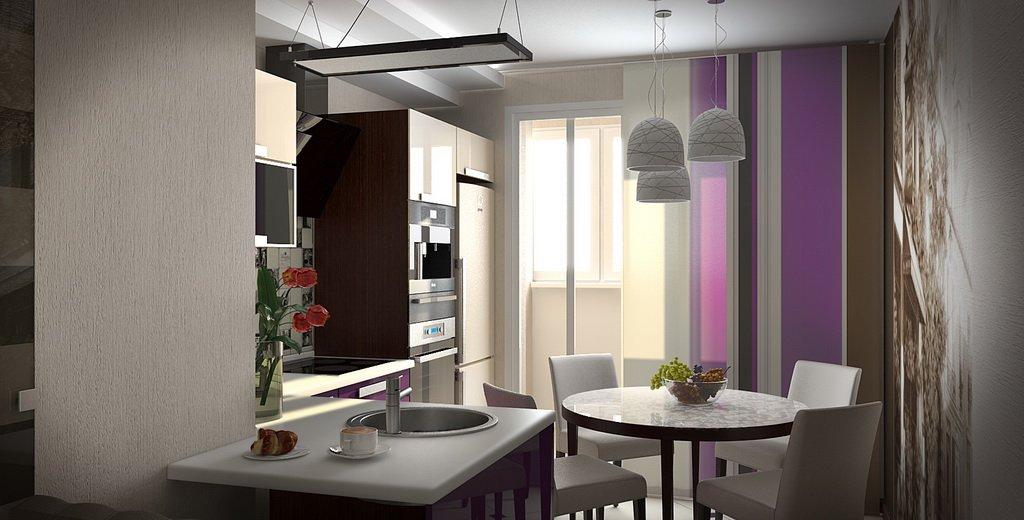 Дизайн кухни 12 кв.м фото с выходом на балкон дизайн кухни -.