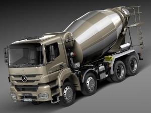 Mercedes-Benz Axor 3240B Cement Mixer 2015