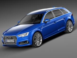 Audi A4 S-Line Avant 2016
