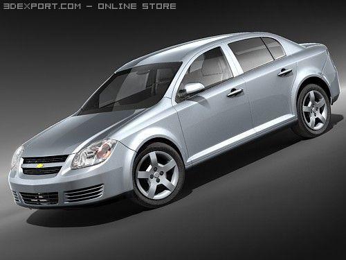 Chevrolet Cobalt Sedan 3D Model