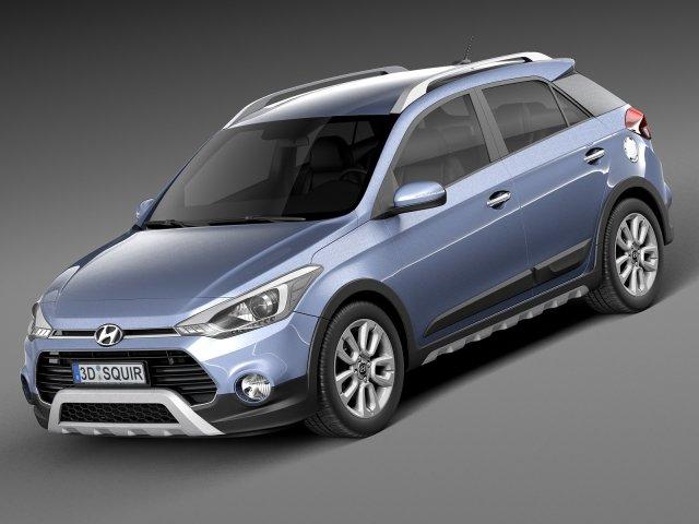 Hyundai i20 Active 2016 3D Model