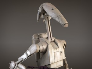 Star Wars Battle Droid rigged for 3dsMax