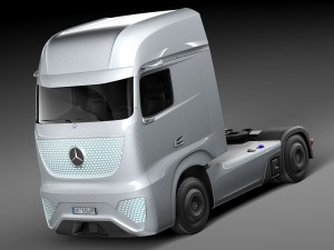 Mercedes-Benz Future Truck FT 2025