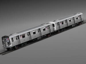 R160 Train New York City Subway