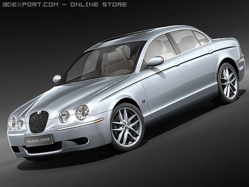Jaguar S type 3D Model