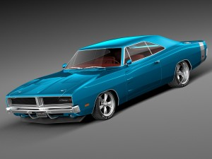 Dodge Charger Pro Touring 1968-1969