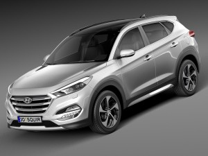 Hyundai Tucson EU-Version 2016