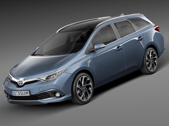 Toyota Auris Touring Sports 2016 3D Model