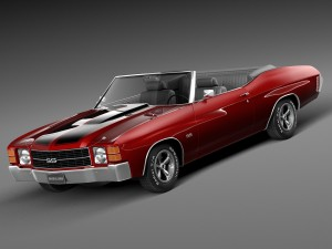 Chevrolet Chevelle SS Convertible 1971