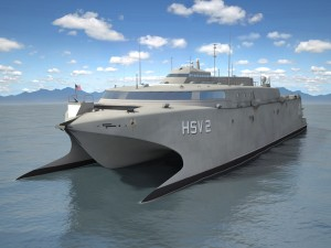 US Navy HSV-2 Swift ship